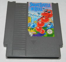 SNAKE RATTLE N ROLL    Nintendo  NES Spiel    GETESTET
