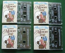 Musical Trip Down Memory Lane + Goodnight Sweetheart + 4 x Cassette Tape TESTED