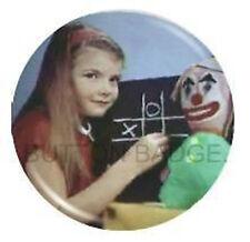 BBC Test Card Life on Mars Pin Badge Retro Vintage