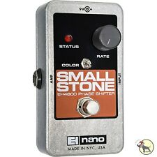 Electro-Harmonix Nano Small Stone Analog Phase Shifter Guitar Effects Pedal