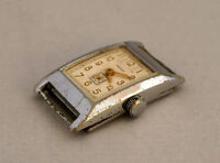 Art Deco defekt für Bastler Armbanduhr Handaufzug schönes Werk 50er Jahre Svesda
