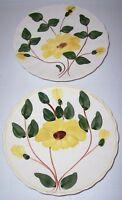 Blue Ridge Pottery Yellow Nocturne Bread Plate