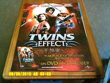Twins Effect (jackie chan) A2 Movie Poster