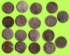 Sweden Latvia Riga Livonia Schilling 1661-64 Lot of 18 Coins F-VF/VF Carl XI 543