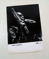 MANU DIBANGO - D 1987 Polydor promo photo / Presse Foto - Pressefoto