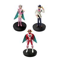 Tatsunoko Production 40th Hurricane Polimar Set 3 Figure Polimar Teru Kuruma