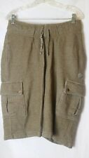 UFC Shorts Knit Gym Workout Board Cargo Shorts Size Medium Tan