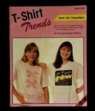 Vintage Totally 80s T Shirt Trend Iron On Transfers By Plaid # 8460 - NIP