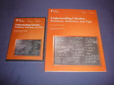 Teaching Co Great Courses DVDs     UNDERSTANDING  CALCULUS    brand new