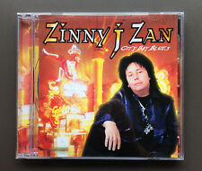 ZINNY J ZAN - CITY BOY BLUES CD EX+/NM 2002 11 Tracks (SHOTGUN MESSIAH) Glam