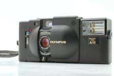 [EXC+5] Olympus XA Rangefinder 35mm Film Camera w/ A11 Flash From JAPAN
