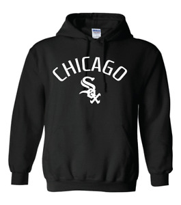 Chicago White Sox With Chicago Logo Hoodie - All Design Colors + Sizes S-5XL
