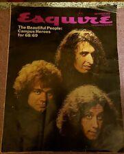 ESQUIRE Magazine Sep. 1968 HAIR Joe Namath George Allen Kim Philby Campus Heroes