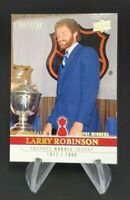 2008-09 UD Montreal Canadiens Centennial Parallel 100 #272 Larry Robinson 67/100