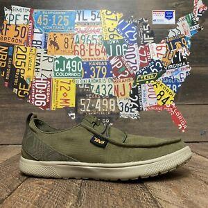 Teva Voya Green Gray Shoes Low Top 1112695 Men's 9
