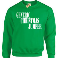 Generic Christmas Jumper Mens funny xmas sweatshirt gift present novelty