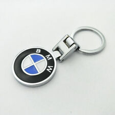 Metal Keyring Car Logo Key Chain Fobs for BMW M Power