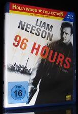 BLU-RAY 96 HOURS - LIAM NEESON - Produziert von LUC BESSON *** NEU ***