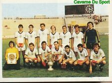 150 EQUIPE TEAM RABA ETO GYOR HUNGARY STICKER FOOTBALL 1980 BENJAMIN RARE NEW
