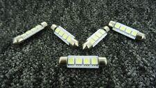FORD 39mm 4 SMD LED 239 272 C5W CANBUS WHITE INTERIOR LIGHT FESTOON BULB