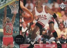 CHICAGO BULLS MICHAEL JORDAN 1994 UPPER DECK RARE AIR #65 DECADE OF DOMINANCE