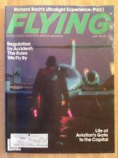 FLYING Aviation Magazine May 1982 Richard Bach Ultralight Regulation Washington
