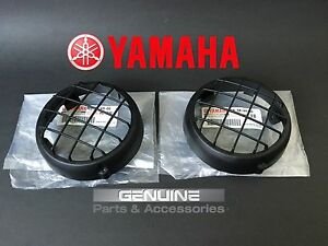 NEW OEM Yamaha Banshee 350 2000-2006 headlight cover guard set