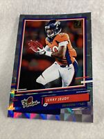 """Jerry Jeudy 2020 Donruss """"The Rookies"""" Checkerboard Refractor Rookie Card #TR-JJ"""