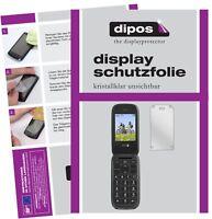 2x Folie für Doro PhoneEasy 613 Schutzfolie klar Displayschutz Display Schutz