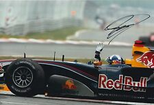 David Coulthard Hand Signed F1 Red Bull Racing 12x8 Photo 4.