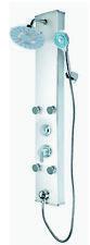 Schütte Duschpanel Überkopfbrause LED Duschpaneel Regendusche Wellness 4fach