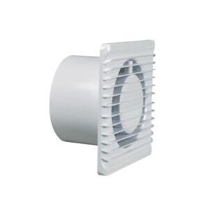 Wohnraumventilator Wandeinbaulüfter Belüftung 100erR weiß für Wand Bad Toilette