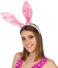 Serre Tête Oreilles Lapin Bunny Accessoire déguisement animal Femme Fille