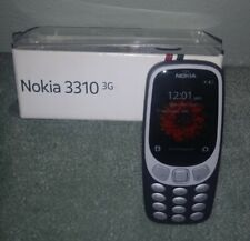 """Nokia 3310 3G - Unlocked Feature Phone - 2.4"""" Screen - Charcoal Great Condition"""