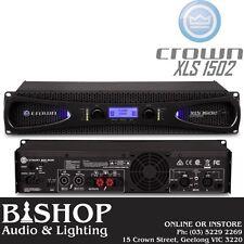 Crown XLS1502 Drivecore 2 x 525W @ 4 Ohms Pwr Amplifier