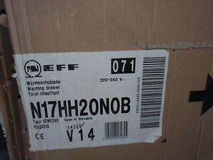 Neff Warming Drawer N17HH20N0B Brand New In Box