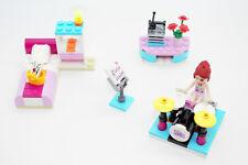 Lego Friends Mias Musikzimmer Schlagzeug Bett Schreibtisch 3939 komplett