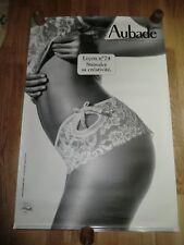 AUBADE Advertising Poster 93cm x 63cm Sexy Lingerie Nude, Lesson Leçon nº 74