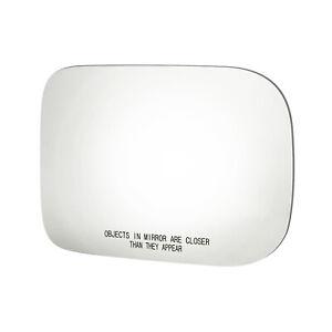 "6""X9"" REPLACEMENT PASSENGER SIDE RH MIRROR GLASS FOR 88-93 RAMCHARGER DAKOTA D/W"