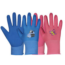 Kinderhandschuhe Hase Arbeitshandschuhe Kinder Handschuhe Gr. 5 Gartenhandschuhe