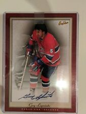 2005-06 Beehive Hockey Guy Lapointe Autographed 5x7