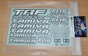 Tamiya 42164 TRF Sticker C (TRF415/TRF416/TRF417/TRF418/TRF419/TRF420), NIP