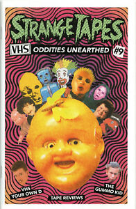 Strange Tapes #9 Magazine video fanzine Jacob Reynolds Gummo Janice.Click