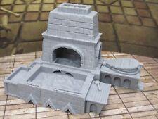 Large Blacksmith's Forge Furnace Set Miniature Scenery Terrain 3D Printed Model