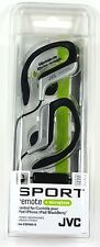 HAEBR80S JVC Sport-Clip In-Ear Headphone/Earphone with Microphone&Remote(Sil