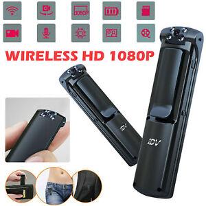 HD 1080P Wifi Camera DVR IR Night Camcorder Cam DVR Police body Camera