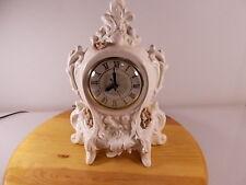 Vintage Lanshire Electric Self Starting Mantel Clock Model T3 Holland Mold USA