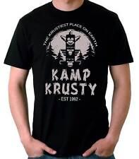 Camiseta Hombre Kamp Krusty funny tv t-shirt manga corta