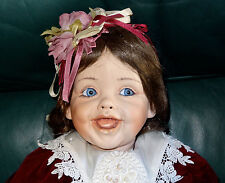 "JOYCEE 24"" PRECIOUS HEIRLOOM PORCELAIN BABY DOLL FAYZAH SPANOS # 874/2000 EX!!"