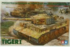 Tamiya 1/35 Late Version Tiger I (with Ace Commander & crew set)  #25401